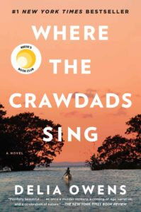 Cover of Where the Crawdads Sing by Delia Owens